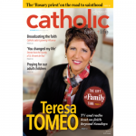 Catholic Digest cover with Teresa Tomeo