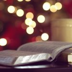 Bible, book and cup