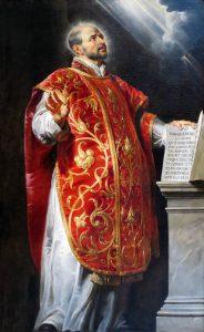 Portrait of St. Ignatius of Loyola