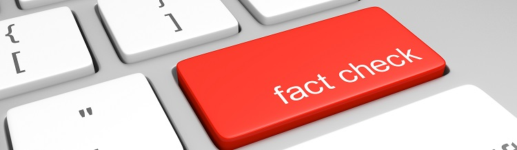 Fact Check Friday Button on Keyboard