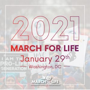 March For Life 2021 graphic