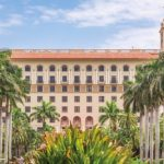 Front of the Breakers Hotel on Palm Beach